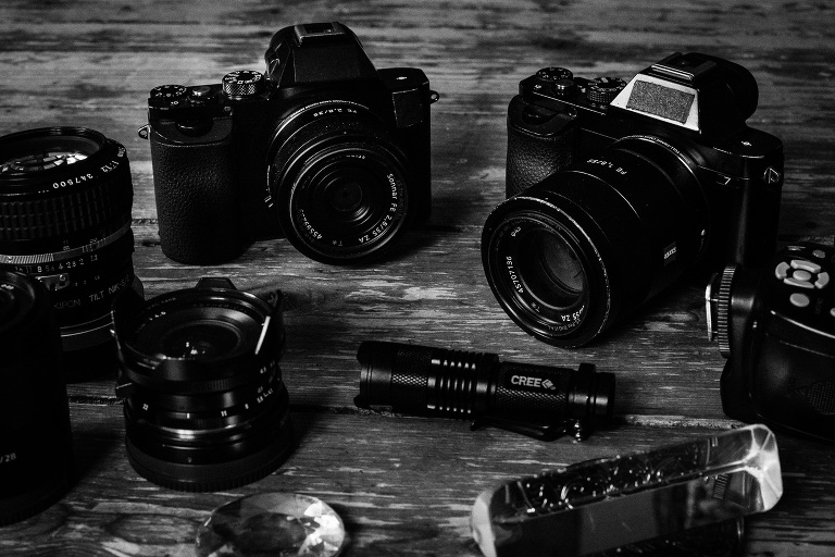 what´s in my camera bag - mirrorless wedding photography