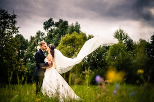 wedding couple photographed by the leading wedding photographers Germany