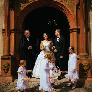 Hochzeit im Wasserschloss