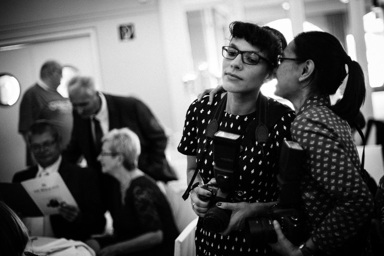 die Hochzeitsfotografen Mann & Frau Schmidt