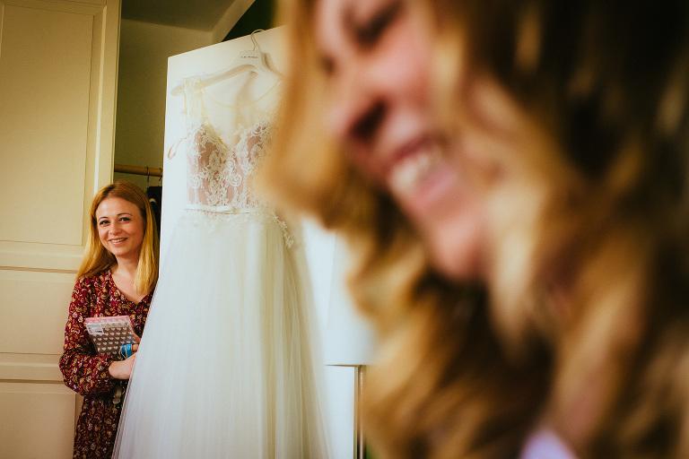 Getting Ready auf der Hochzeit im Hotel Waldhof auf Herrenland