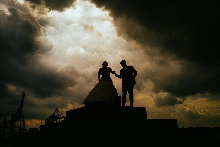 deutsch persische Hochzeit in Hamburg