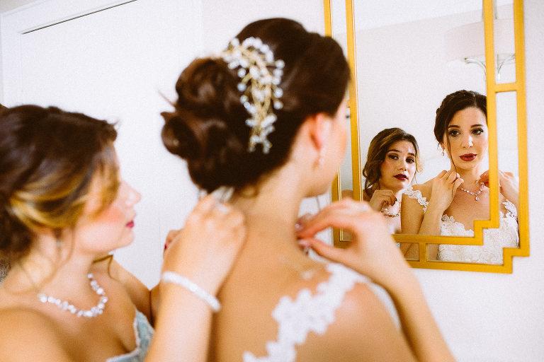Getting der Braut, Griechisch orthodoxe Hochzeit in Hamburg