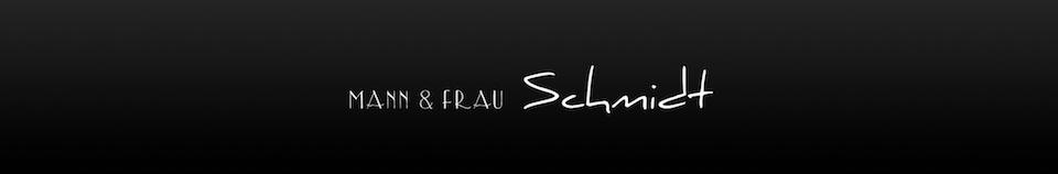 Mann & Frau Schmidt – die etwas anderen Hochzeitsfotografen logo