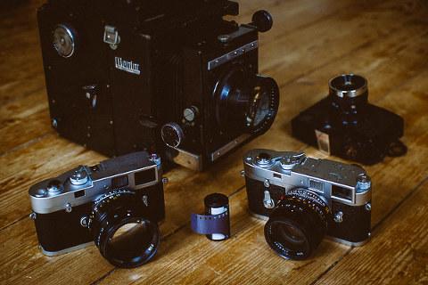 Hamburg Hochzeitsfotograf und seine analogen Kameras